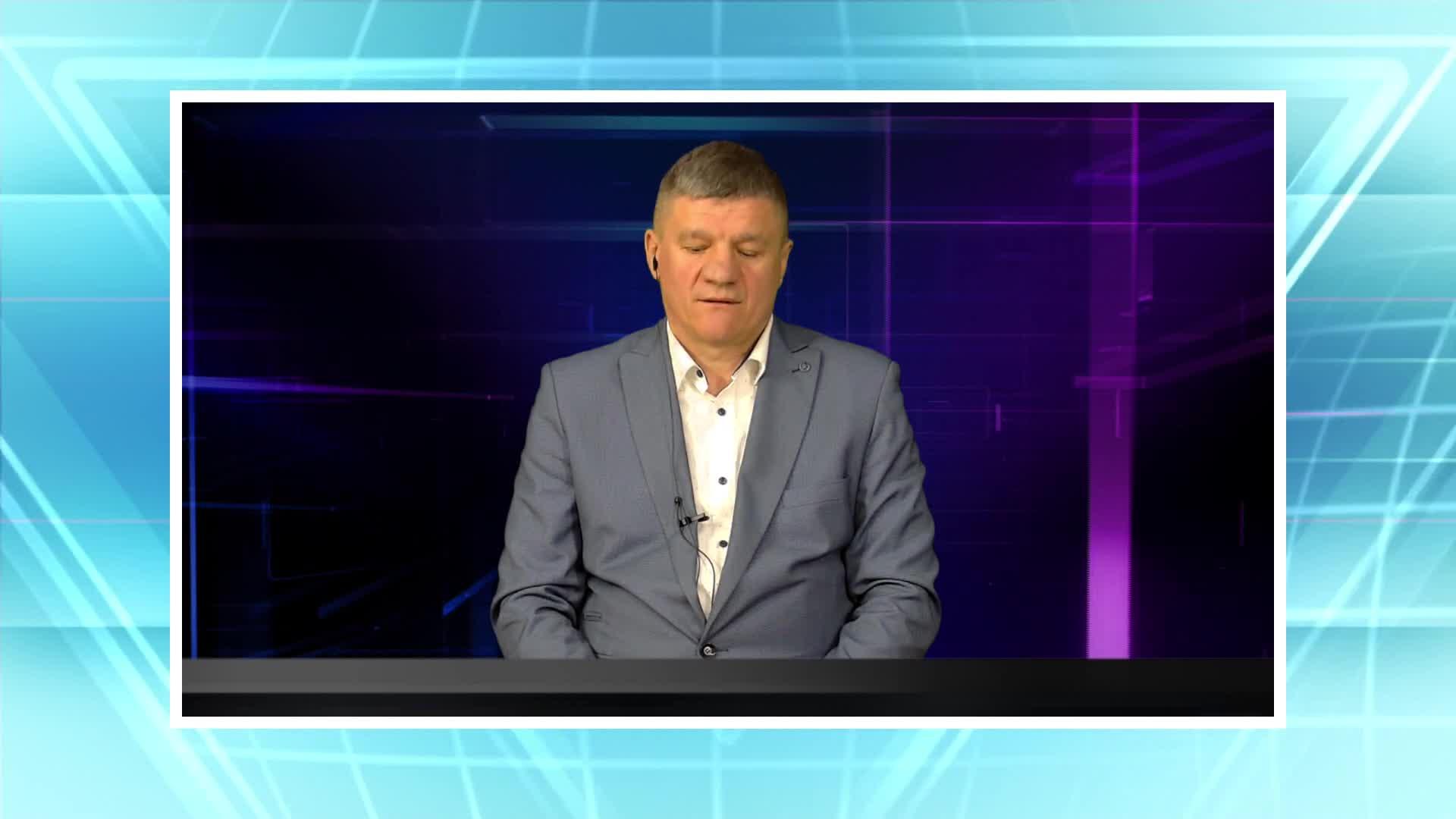 Rozmowa w TVPowiat - Krzysztof Rusinek