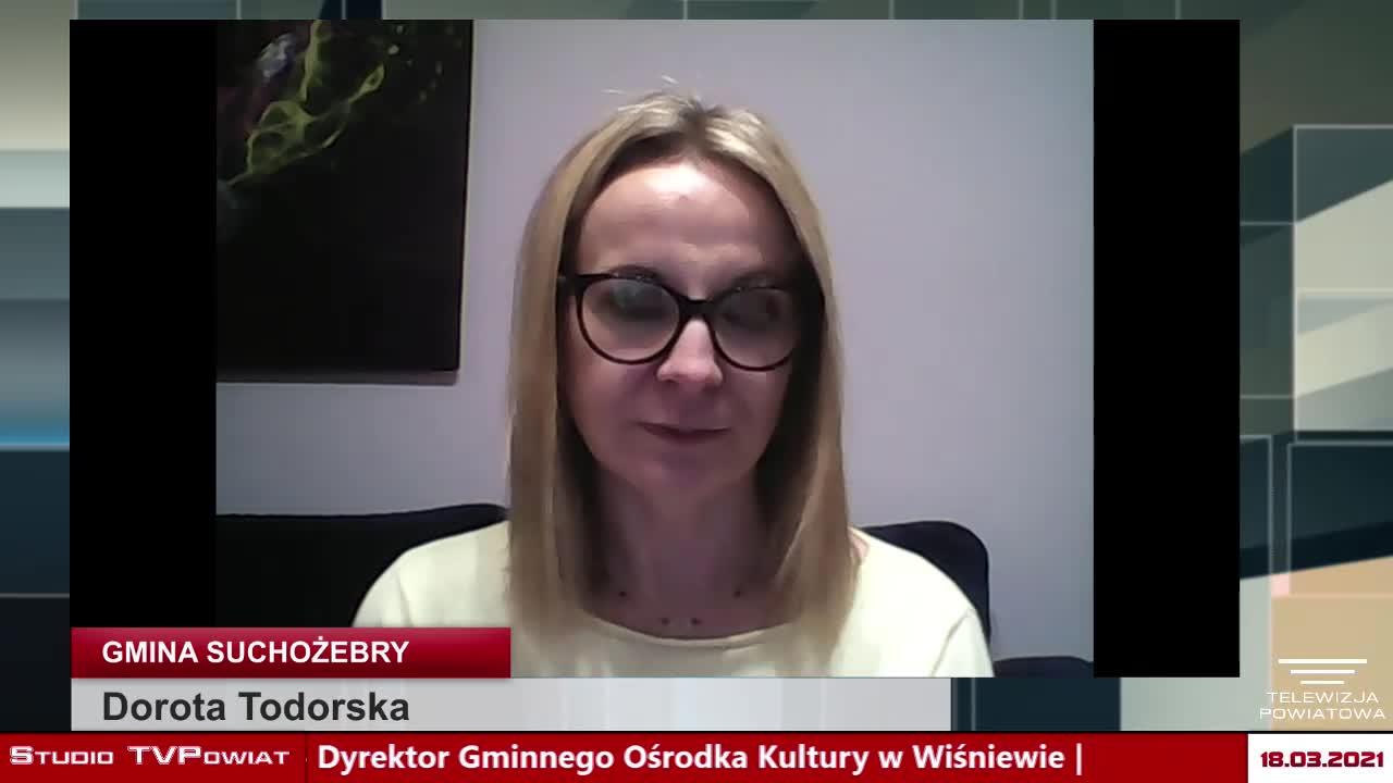 Rozmowa w TVPowiat  - Dorota Todorska, Paweł Ksionek