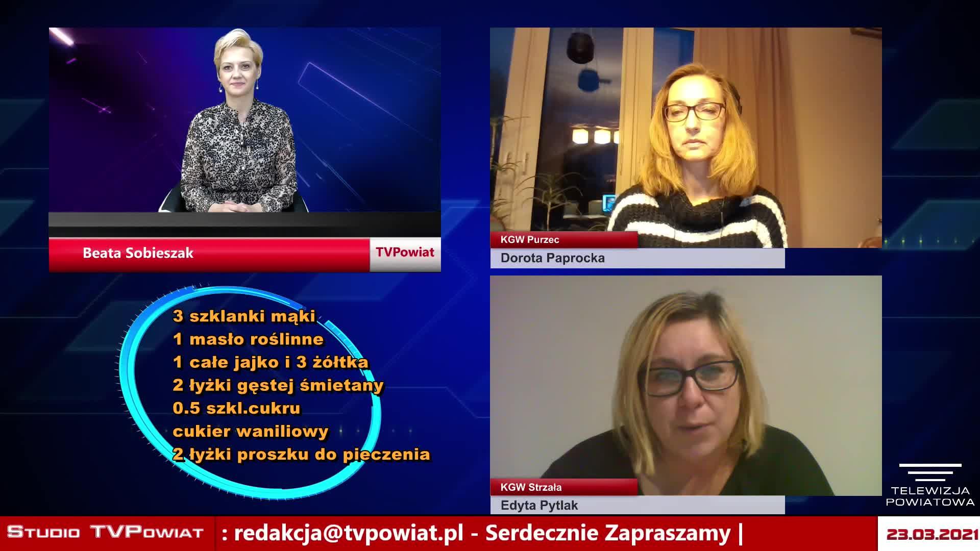 Czas dla Mieszkańca – Edyta Pytlak,/ KGW Strzała, Dorota Paprocka / KGW Purzec