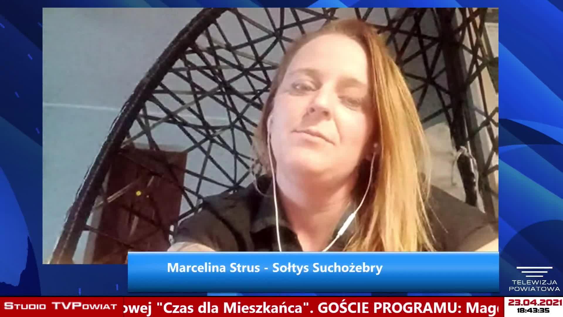 Czas dla Mieszkańca - Magda Celińska – Drozd, Marcelina Strus / Gmina Suchożebry
